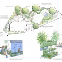 Sophie Dixon, Oxford College of Garden Design – 33 The Hill, Garsington