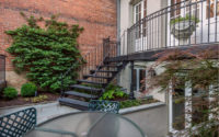 Molly Scott Exteriors LLC – Kalorama Art Deco Courtyard